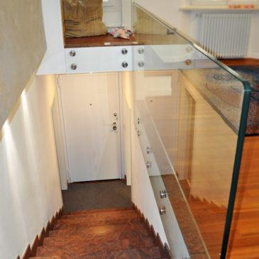 Parapetti per scale e terrazzi