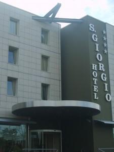 pensilina hotel san giorgio